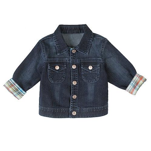 Wrangler Infant 'Fall Round-Up' Dark Wash Denim Jacket