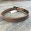 Thumbnail: Kid's Studded Basketweave Belt - Golden