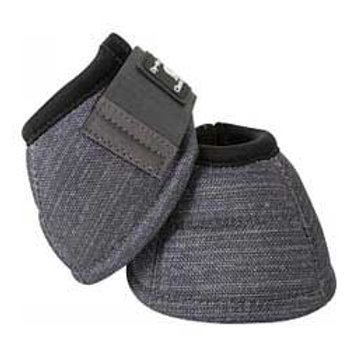 Classic Equine Bell Boots - Charcoal