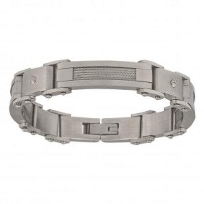 Stainless Steel Rivet Bracelet