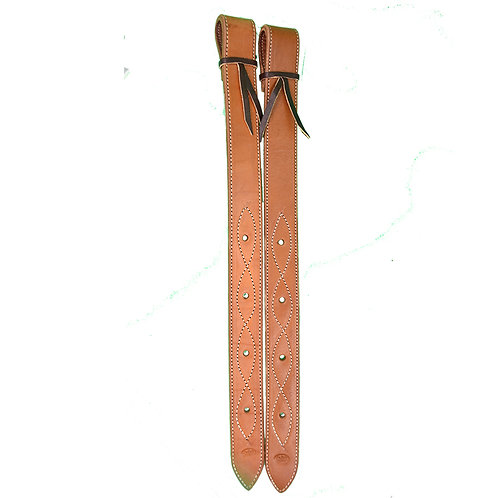 TN Light Oil Leather Flank Billet - Set of 2