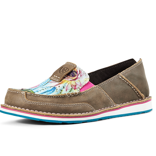 Ladies Ariat Cruisers - Floral Cactus