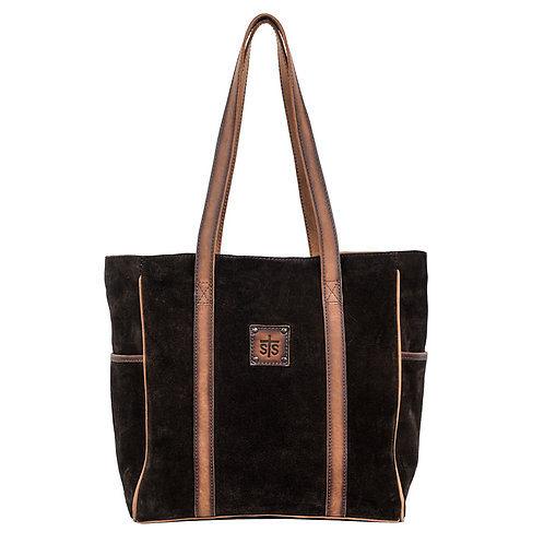 STS Heritage Tote - Brown Suade