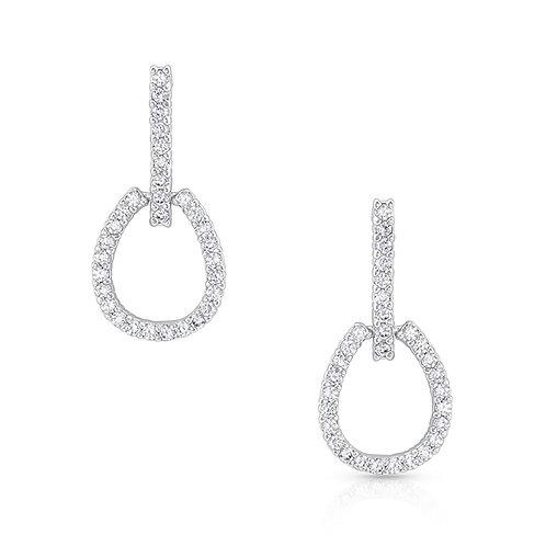 Montana Silversmith Glittering Tapedero Earrings
