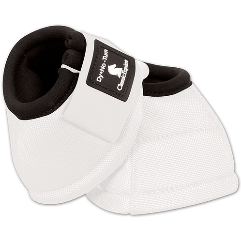 Classic Equine Bell Boots - White
