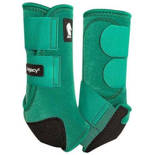 Classic Equine Legacy2 Boots - Emerald