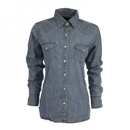 Ladies STS Stran T Denim Shirt