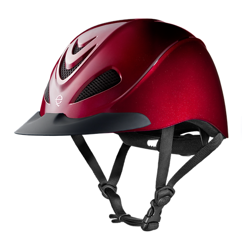 Troxel Liberty Helmet - Ruby