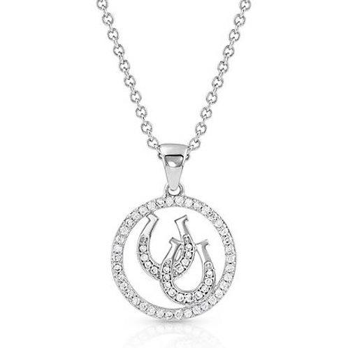 Montana Silversmith Lucky Horseshoes Necklace