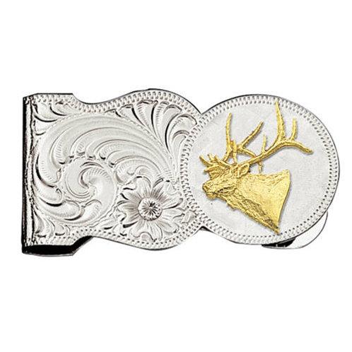 Montana Silversmith MCL7-442 Buck Head Money Clip