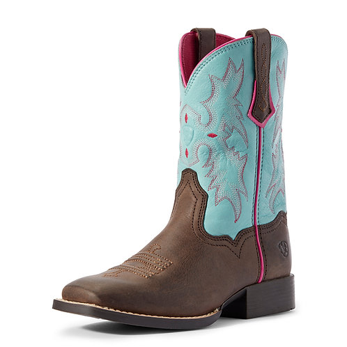 Ariat Youth Tombstone Boots - Bell Blue