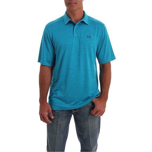 Men's Cinch Turquoise Arenaflex Polo Shirt