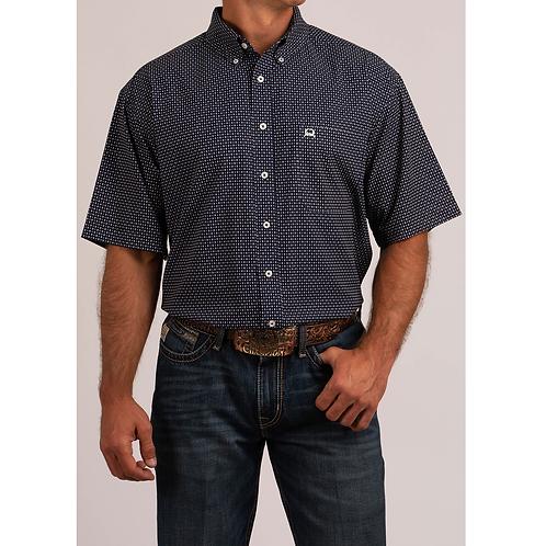 Cinch Stars & Squares Polo Shirt