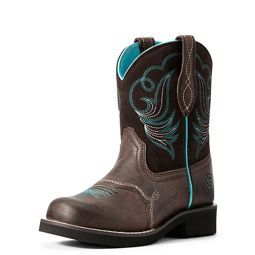 Youth Ariat Fatbaby Dapper Boot - Toffee Bean