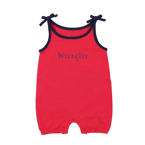 Wrangler Infant Signature Red & Navy Outfit