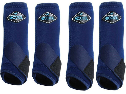 2XCool Sports Medicine Boots 4 Pack - Navy