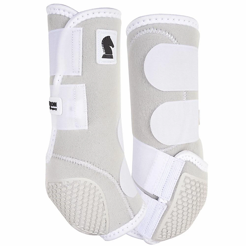 Classic Equine Flexion Boots - White
