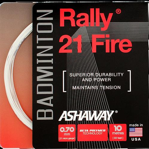 Rally 21 Fire - White
