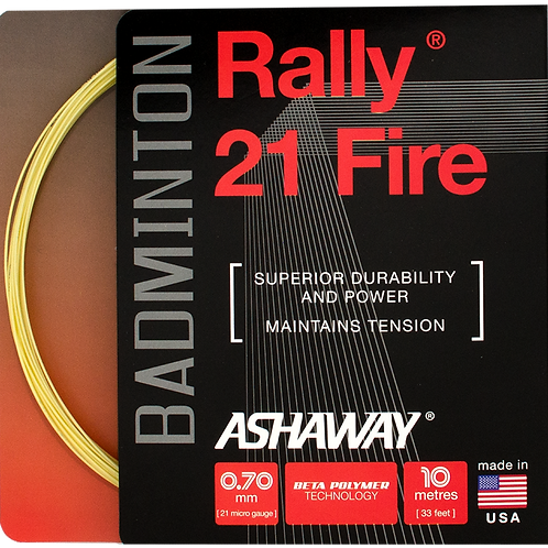 Rally 21 Fire - Yellow