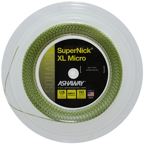 SuperNick XL Micro Squash Strings Reel