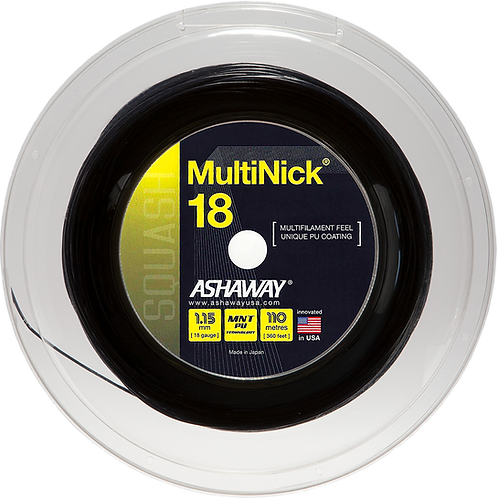 MultiNick 18 Squash Strings Reel