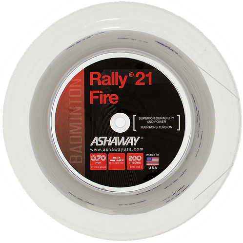 Rally 21 Fire - White
