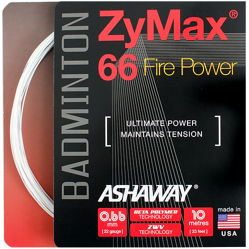 ZyMax 66 Fire Power - White