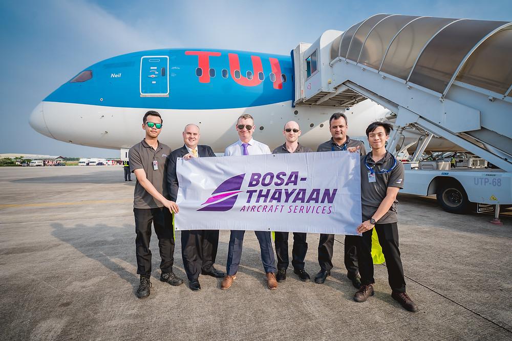 BOSA-THAYAAN, BTAS, aircraft services, opening, grand opening