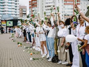 В поддержку женщин Беларуси