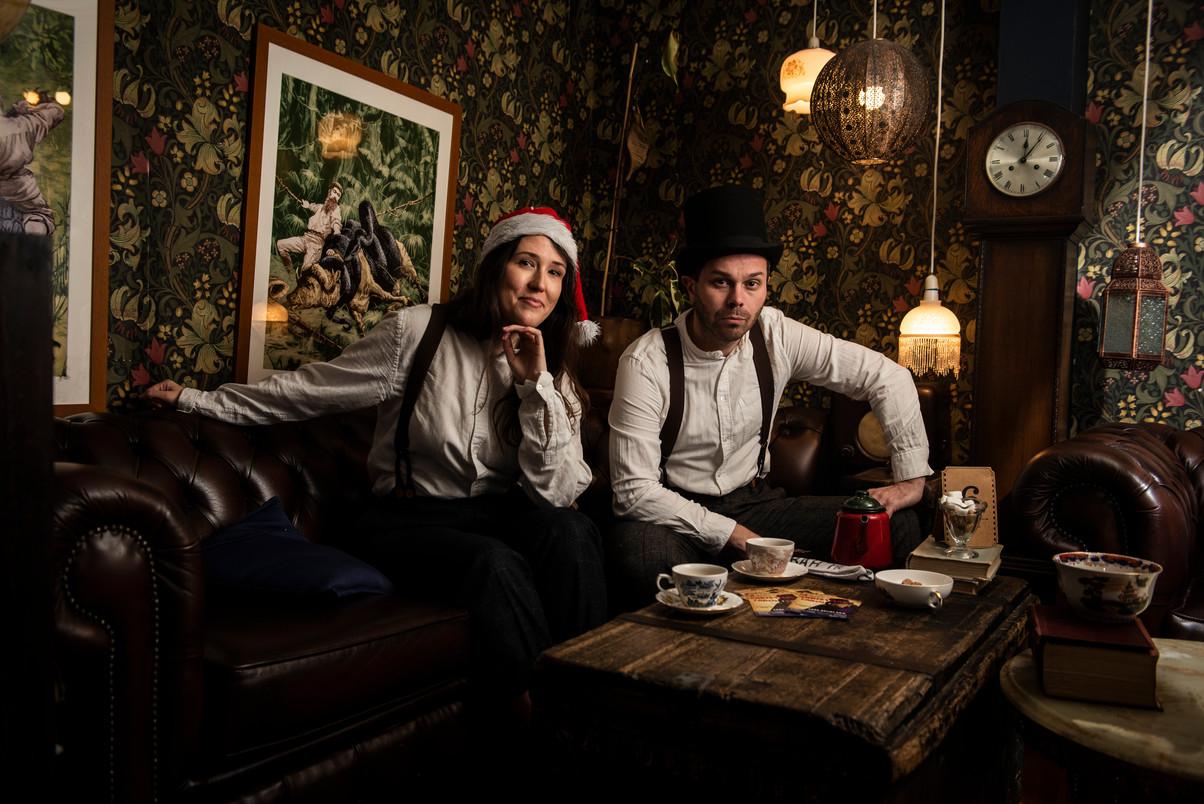 A Biddy's Christmas Carol 2019 Publicity shot