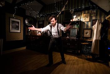 Mark Finbow as Scrooge