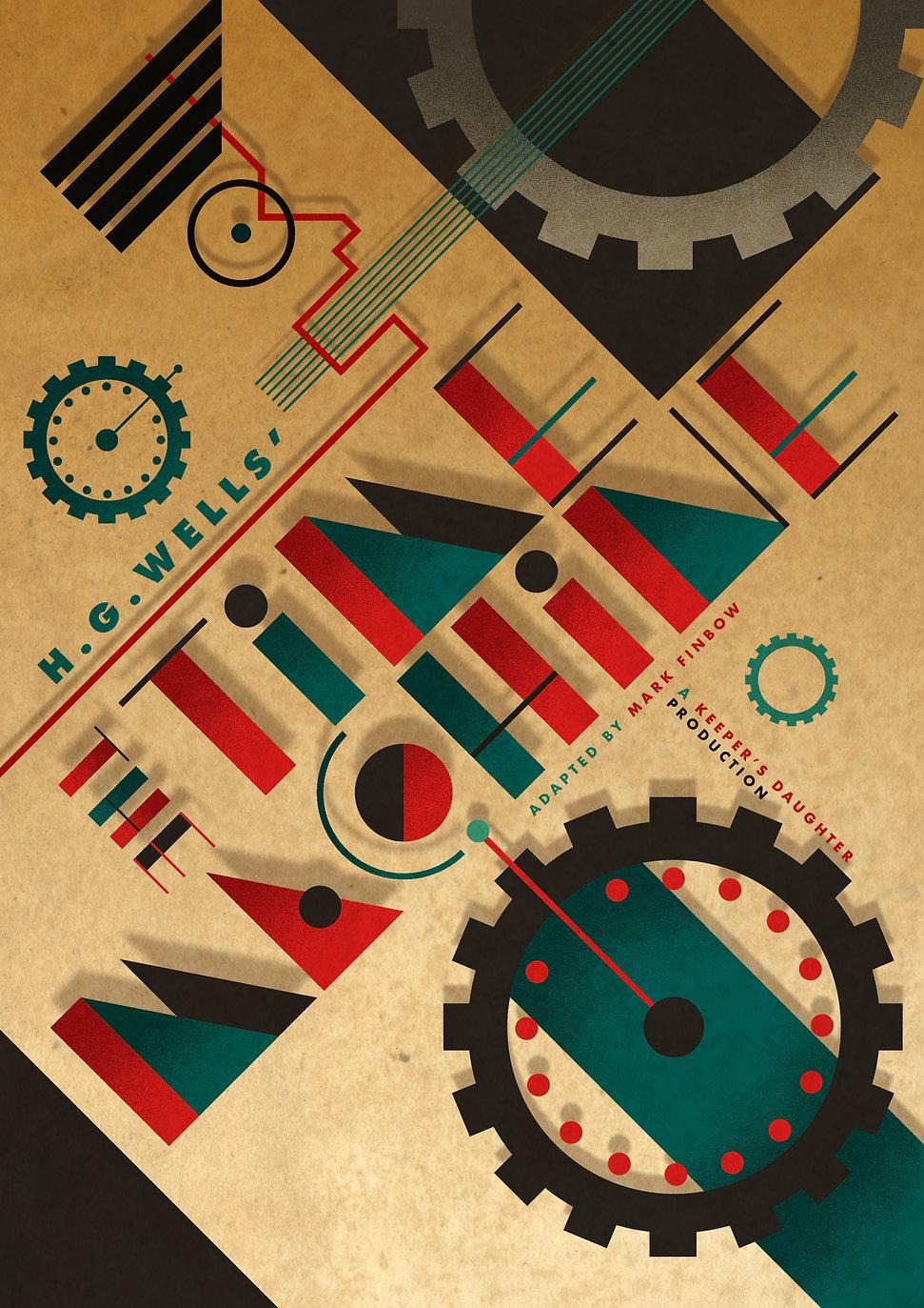 TOUR POSTER - TIME MACHINE V3 FULL ARTWO