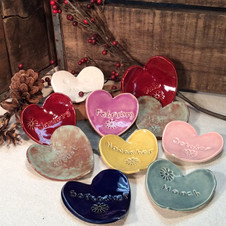 Heart Trinket Bowls