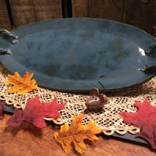Tourmeline handled platter