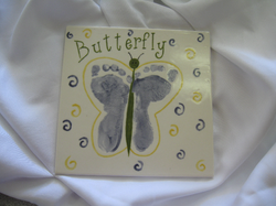 Baby Plate - Butterfly