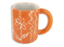 Regular Mug - painted etching