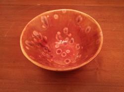 Cone bowl - crystal glaze inside