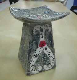 Candle holder - Asian inspired!