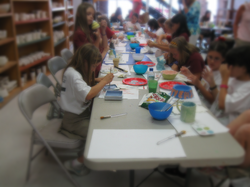 Girl Scout Pottery badges rock!