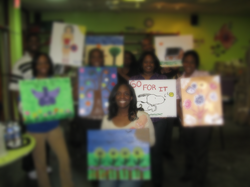 Canvas painting - Yes, we can do this too!