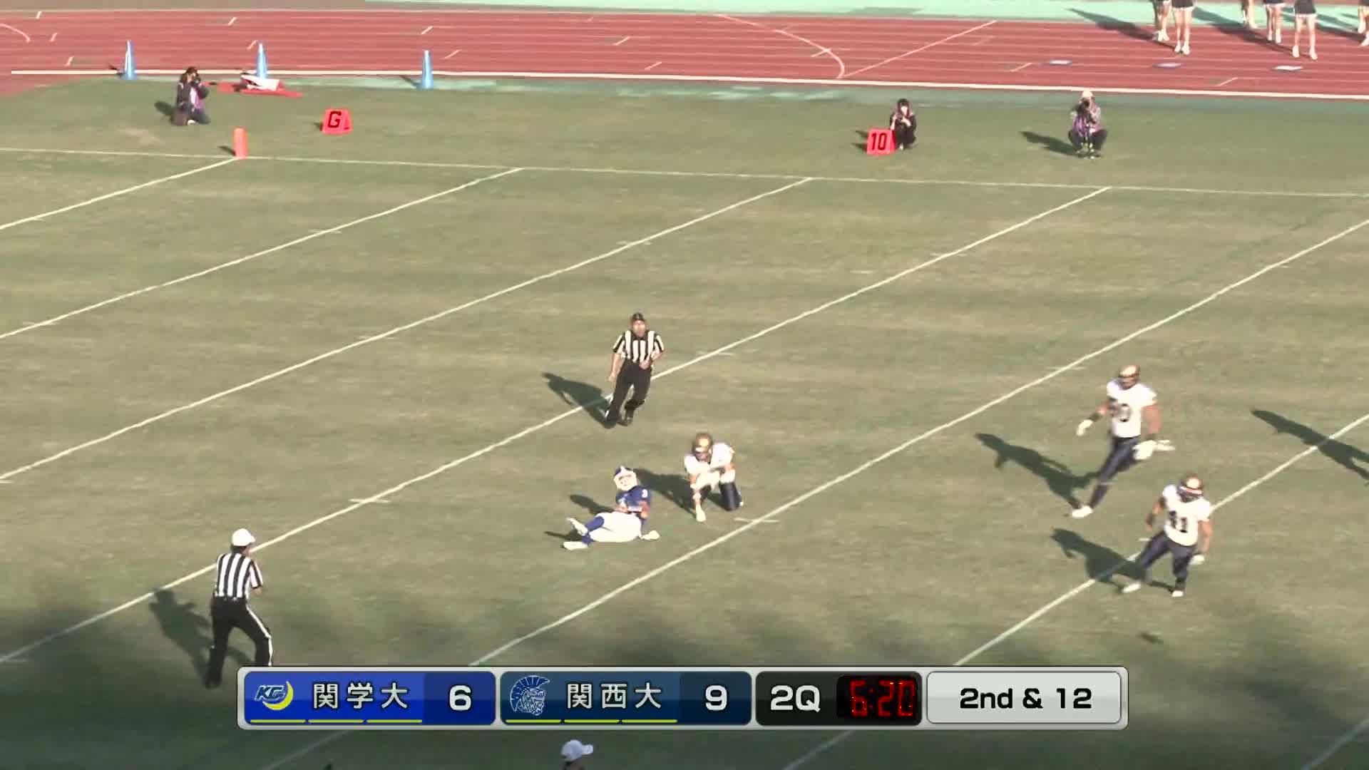 関西学院大学vs関西大学ゲームハイライト