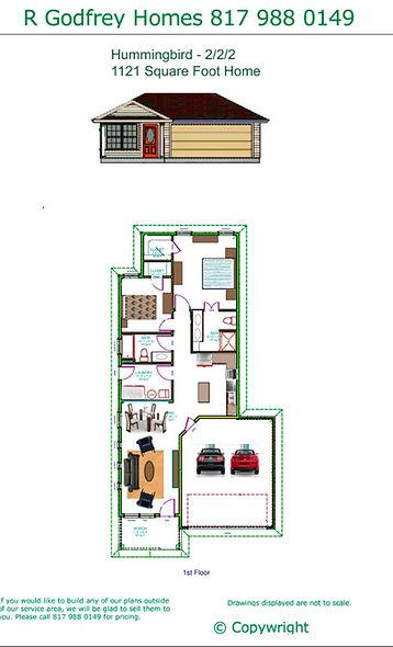Hummingbird Cottage - 2/2/2 Energy Star Home