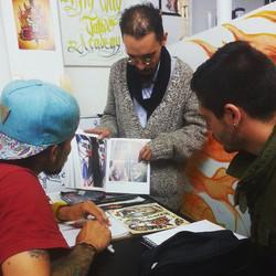 formacion integral a los artistas del mañana _#copieseverything #tattoo #tradicional #tattoos  #eter
