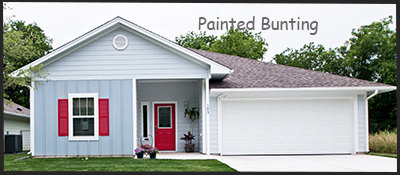 Painted Bunting Energy Star Home