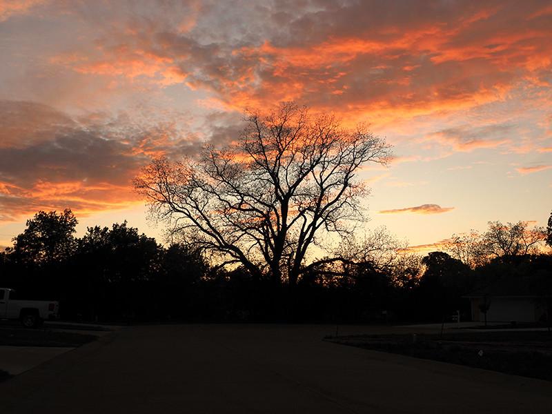 Sunset at Bluebird Park