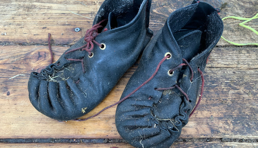 The shearer's boots