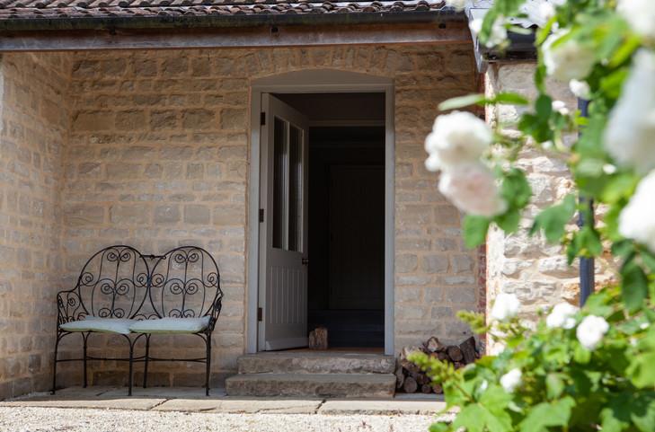 B & B front door