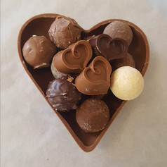 coeur truffe