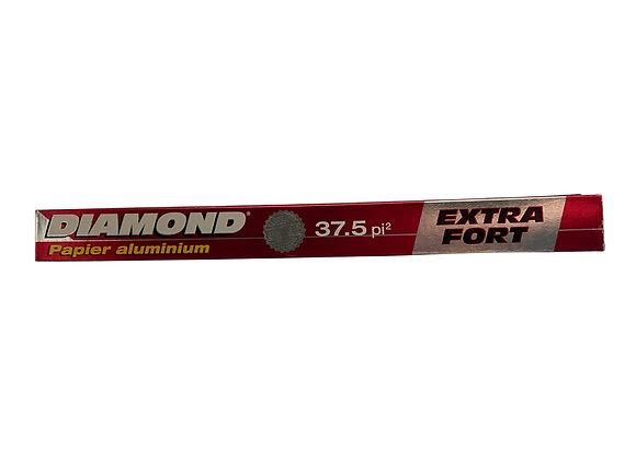 Papel Aluminio Diamond Extra Fuerte Heavy Duty