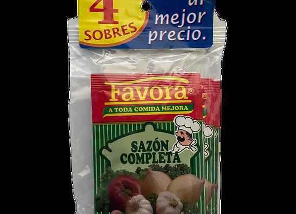 Sazon Completa Favora